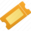 ticket, tickets icon