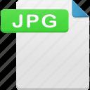 document, jpg, file, format