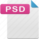 document, psd, file, format