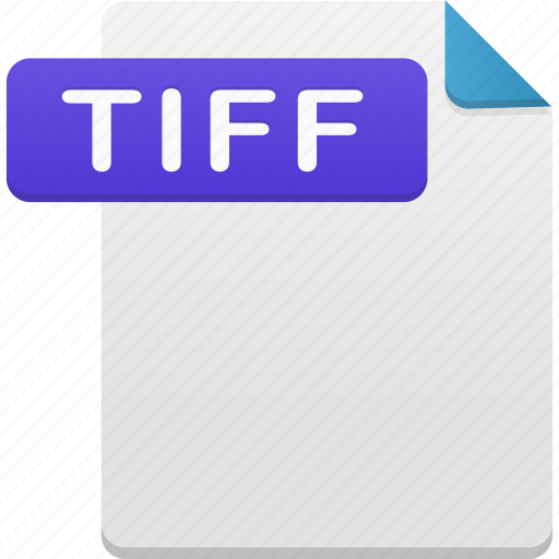 document, file, format, tiff icon