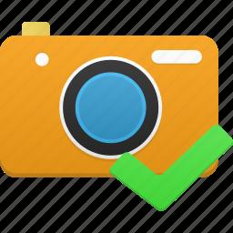 accept, camera, photo, picture icon