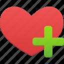 heart, add, love, like, favorites