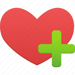 add, favorites, heart, like, love icon