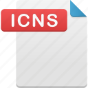 document, file, format, icns icon
