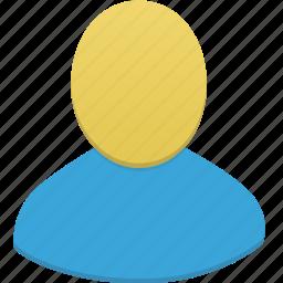 administrator, male, man, user icon