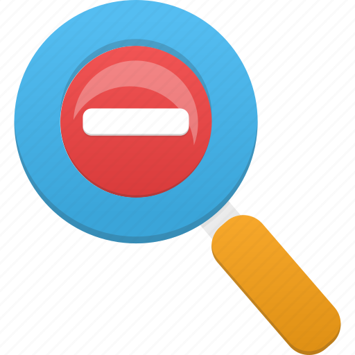 glass, magnifier, magnifying, magnifying glass, out, search, zoom icon
