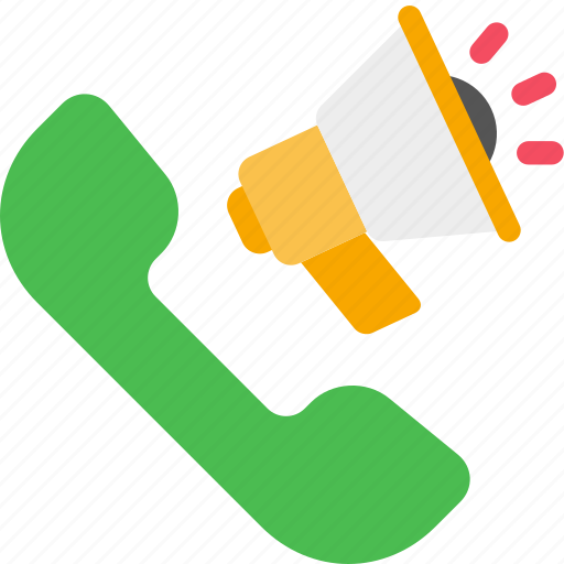 call, loudspeaker, marketing, phone, seo icon
