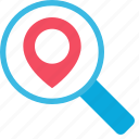 local, location, place, search, seo icon