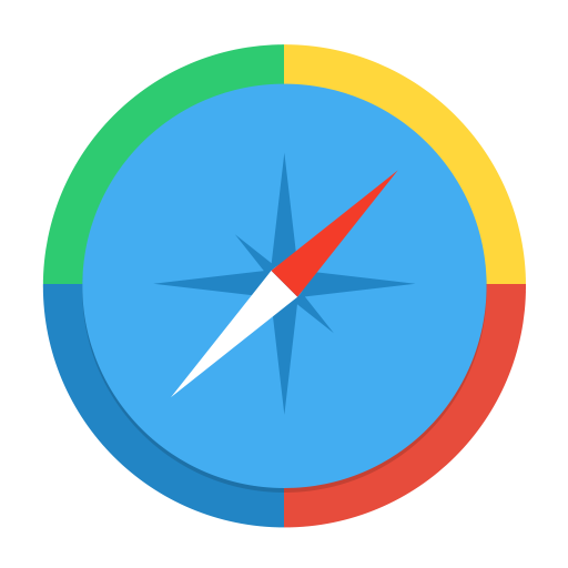 browser, compass, direct, direction, navigation, northeast, path, pathfinder, pointer, safari, way icon