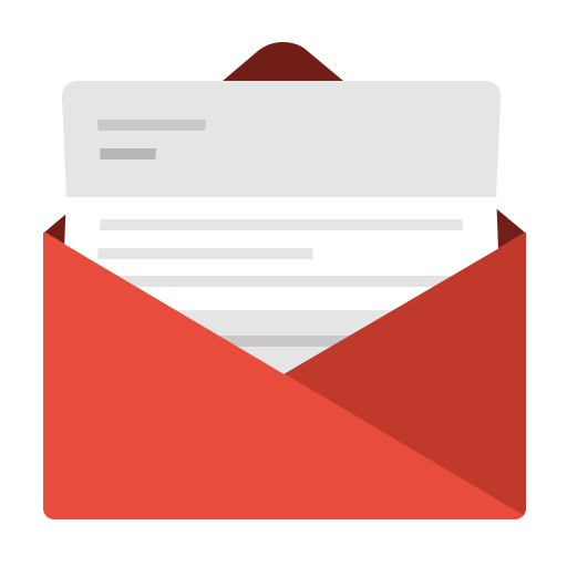Outlook Contact Icon: Communication, Contact, Email, Envelope, Fold, Gmail