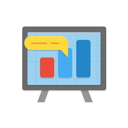 analytics, bar, board, chart, comment, diagram, graph, message, stand icon