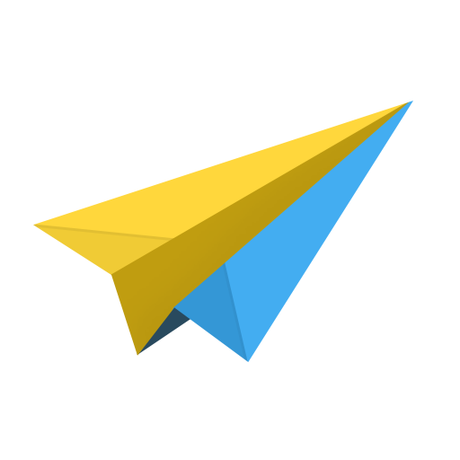 airplane, cloud, email, mail, message, messages, origami, paper, plane, send, sparrow icon