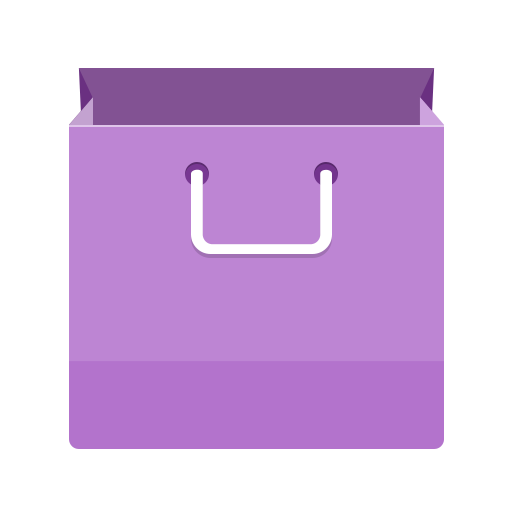 bag, basket, buy, cart, mall, paper, shopping icon