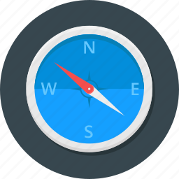 adventure, compass, direction, location, navigate, navigation, travel icon icon