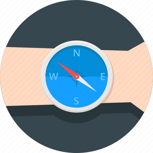 compass, direction, location, maping, navigate, navigation icon