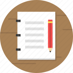 book, business, diary, note, noted, report, sketch icon
