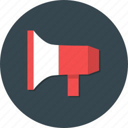 advertising, marketing, megaphone, promotion, sounding, speaker icon