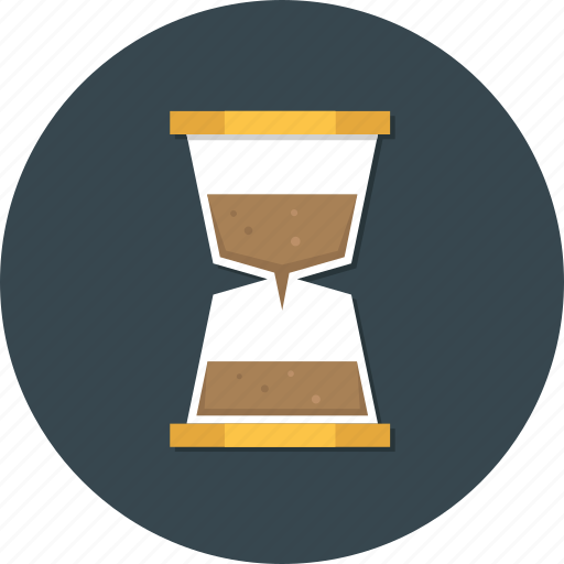 clock, management, sand time, time, timer, watch icon