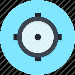 aim, bull eyes, focus, marketing, target, targeting icon