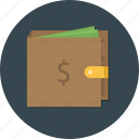 bank, business, cash, finance, money, storage, wallet icon