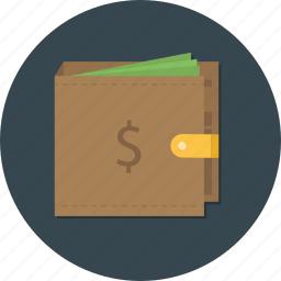 bank, business, cash, finance, money, storage, wallet icon