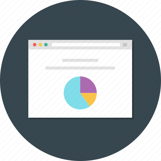 chart, pi chart analytic, pie, pie chart report, pie chart web icon