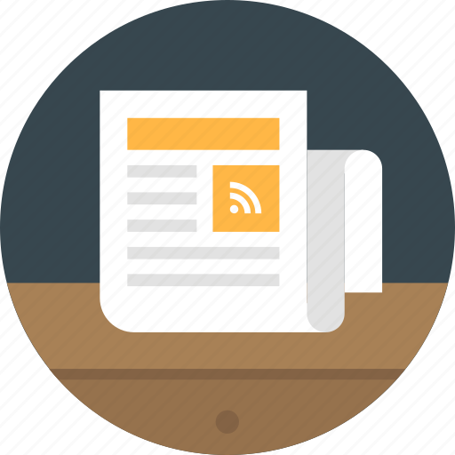 press, press release, release, rss, rss marketing, subscribe icon