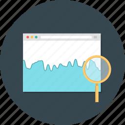 search, traffic, web, web health, web monitoring icon