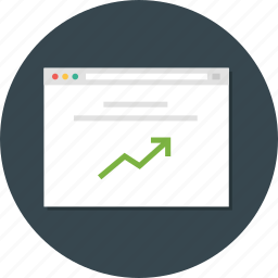 optimazition, web, web analytic, web monitoring icon
