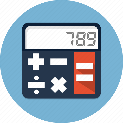 calc, calculate, calculator, math icon