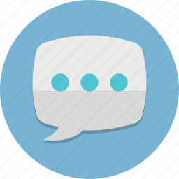 bubble, chat, comment, message, sms, speech, talk icon