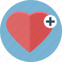 bookmark, cross, favorite, health, heart, like, love icon