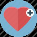 heart, love, like, bookmark, favorite, cross, health