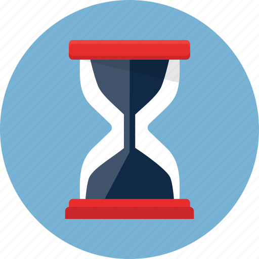 clock, hourglass, sand, sandclock, sandglass, time, timer icon
