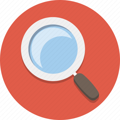 glass, magnifier, magnify, magnifying glass, search, zoom icon