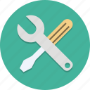 maintenance, menu, options, settings, tool, tools, wrench icon