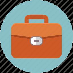 bag, briefcase, case, luggage, portfolio, suitcase, work icon