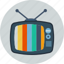 media, movie, set, television, tv, tv set, video icon