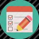 questionnaire, check, checklist, check-box, list, voting, survey