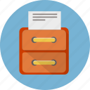 archive, cabinet, container, database, drawer, storage icon