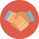 agreement, business, contract, deal, hand, handshake icon