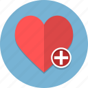add, bookmark, cross, favorite, favourite, heart, love icon