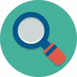detective, find, glass, loupe, magnify, search, zoom icon
