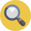 glass, lens, look, magnifier, magnifying, search, zoom icon