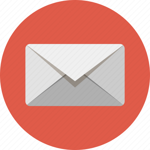 address, attachment, contact, correspondence, email, mail, mailing icon