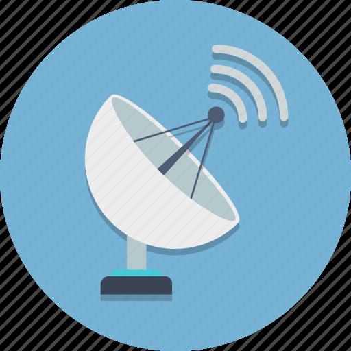 antenna, dish, radar, radar dish, radio, satellite, satellite dish icon