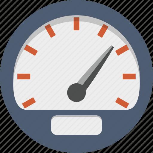 dashboard, gauge, measure, odometer, speed, speedometer icon