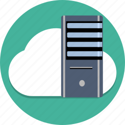 cloud, data, database, network, safe, server, storage cloud icon