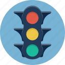 light, road, semaphore, stop, stoplight, traffic, traffic lights icon