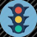 semaphore, traffic lights, stop, stoplight, traffic, light, road